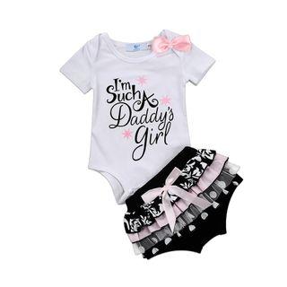 conjunto niña bebé nuevo princesa