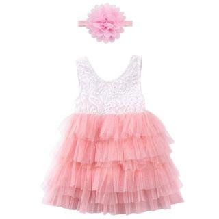 vestido niña bebé nuevo princesa