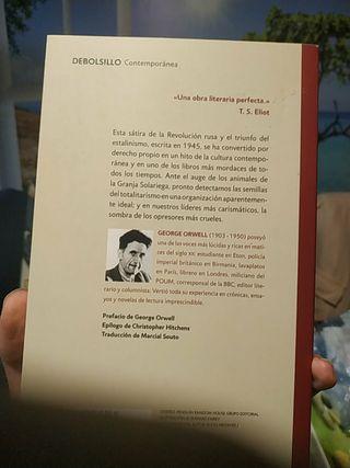 LIBRO REBELIÓN EN LA GRANJA - GEORGE ORWELL