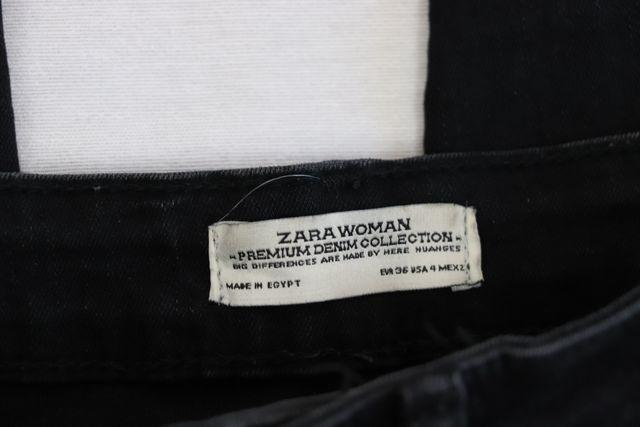 Pantalones vaqueros pitillos rotos Zara Talla S