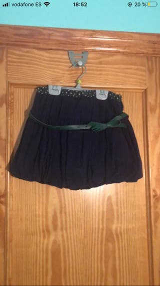 Faldas de niña
