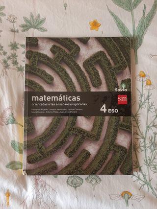 Matematicas aplicadas 4° ESO