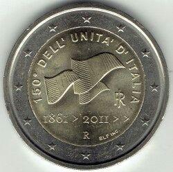 2 euros italia 2011