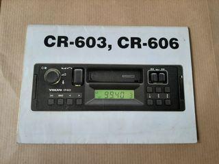 Radio volvo cr-603