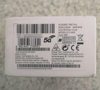 Huawei P40 Pro. 5G. Dual Sim. 256gb+8gb. ELS-NX9.
