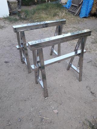 caballetes de acero Sepik kare regulables