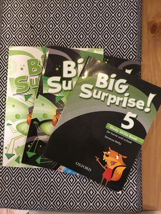 BIG SURPRISE 5º PRIMARIA (set de libros)