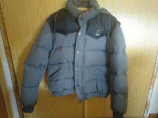 abrigo plumas y chaleco
