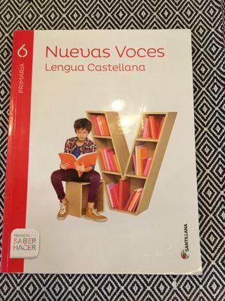Nuevas voces. Lengua Castellana 6º PRIMARIA