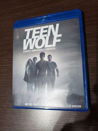 Cuarta temporada de Teen wolf en Bluray