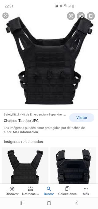 chaleco táctico airsoft