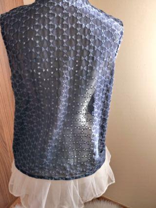 blusa encaje