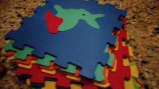 alfombra puzle de goma eva