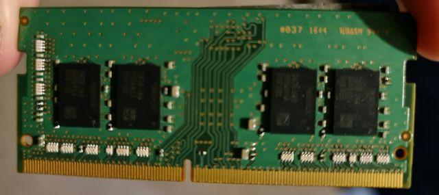 8 GB RAM SAMSUNG DDR4