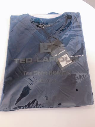 60%Tee Shirt Homme Ted Lapidus tout neuf taille M