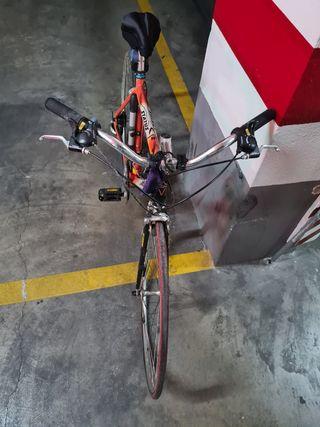 Bicicleta muy cuidada