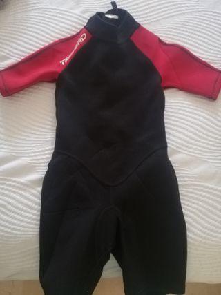 traje de neopreno de niño/a talla 6