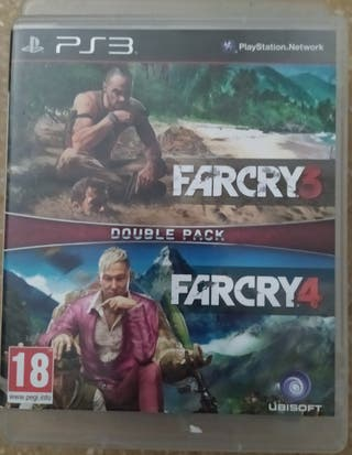 Far cry 3 y 4 Double pack PlayStation 3