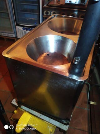 freidora industrial doble churros