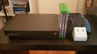 Xbox One X más accesorios