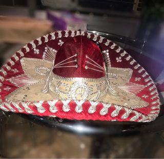 Sombrero de charro mexicano echo a mano