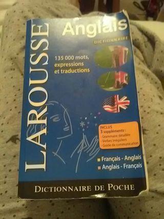 Dictionnaire de poche Larousse Fr-En et En-Fr