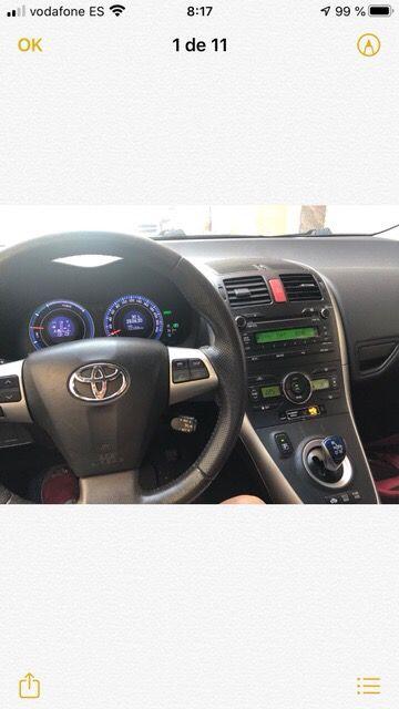 Toyota Automatico Auris Advance Hibrid 2010