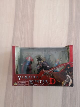 Vampir Hunter D PVC set de Darkhorse Deluxe