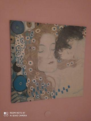 Cadro Decorativo Gustav Klimt Ikea