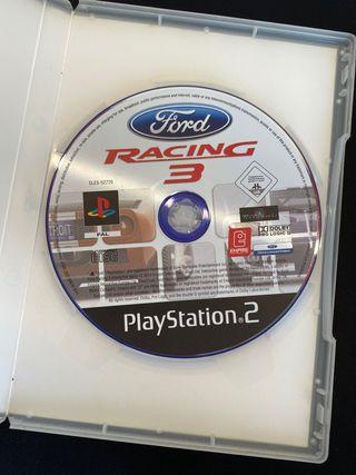 Juego racing 3. play station 2.