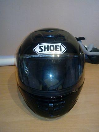 Cambio casco modular por casco de cross, no es un
