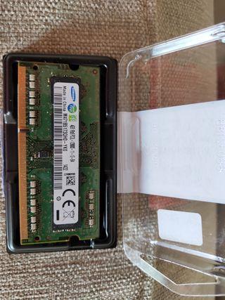 Módulo de memoria DDR3 Samsung para portatil 4 GB