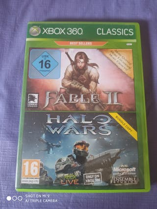 fable 2 halo wars xbox 360