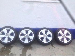 Llantas originales Audi en 17 pulgadas