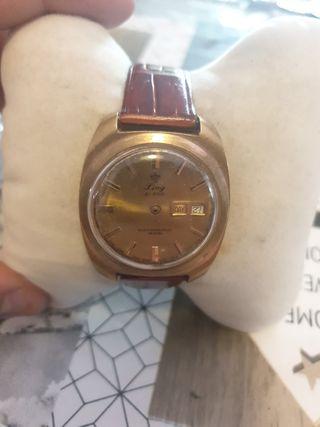 reloj ling 21 prix cuerda suizo años 70