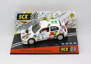 Toyota Corolla WRC Scalextric 4x4 con luces NUEVO