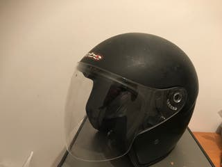 Casco moto jet Hebo