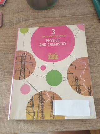 libro de física y química de tercero de la ESO