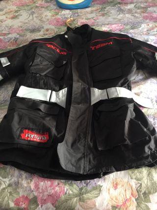 """Cazadora de moto """" Fortuna Racing Team"""" talla L"""