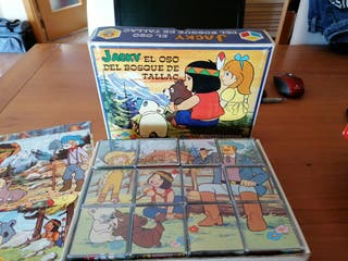 puzzle cubos Jacky oso tallac