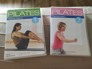 Curso DVDs Pilates básico + pierde peso (nuevos)