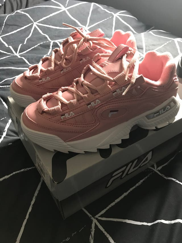 Brand new Fila trainers