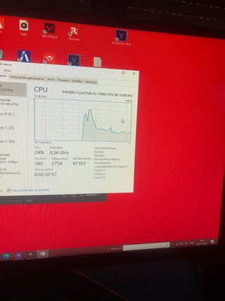 I5 7400 4 núcleos 8 hilos