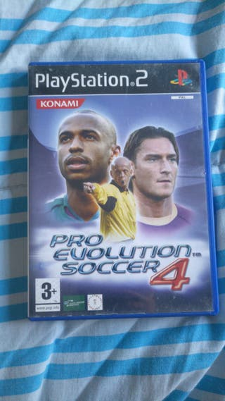 PRO EVOLUTION SOCCER 4. PS2