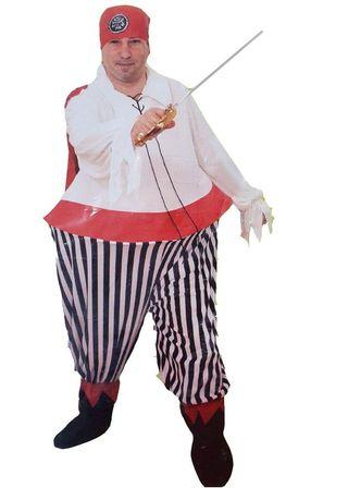Disfraz Pirata Gordo Adulto