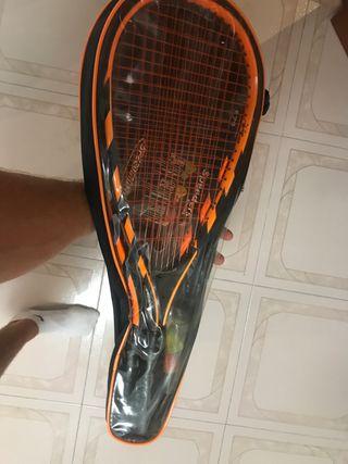 Set Speedminton raquetas bolsa y pelotas