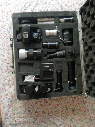 maletin acessorios para telescopio