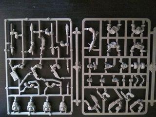Warhammer bits Orcos