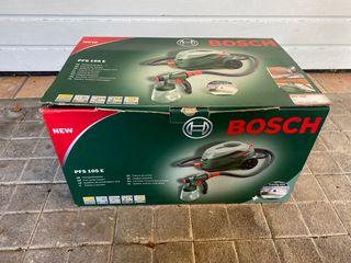 Pistola de pintura NUEVA! Bosch - PFS 105 E WALL