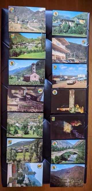 48 postales de Andorra.